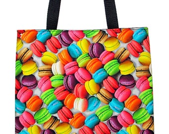 French Macarons Carryall Tote Bag - Choose Size