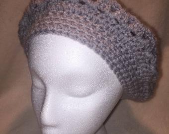 Handmade Crocheted Beret Cap