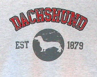 Womens TANK TOP Dachshund Dog Choose Size and Color 17405