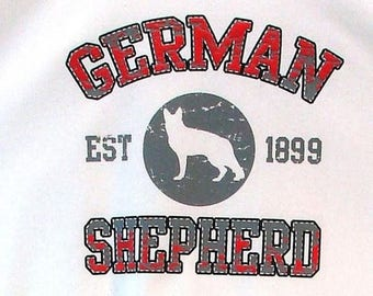 Womens TANK TOP German Shepherd Dog Choose Size and Color 17411