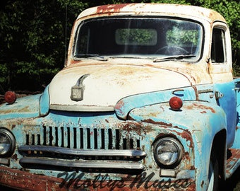 Old Truck Photography - 1951 Ford International Truck