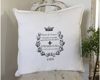 French Farmhouse Decor | Throw Pillow | French Country | French Provincial | Cottage Decor