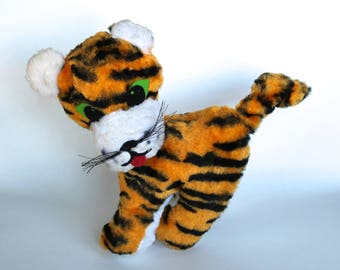 Vintage 1960's Tiger Plush Doll!
