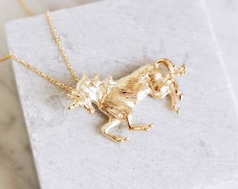 Unicorn necklace- free shipping