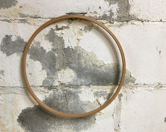 Vintage Embroidery Hoop Wooden Made in USA 12 inch