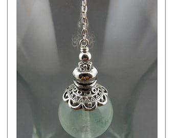 LATE SHIP SALE Fluorite Pendulum, Pendulum, Gemstone Pendulum, Dowsing Pendulum, Metaphysical, Intuition, Divination, Magic, Wicca, Yoga Jew