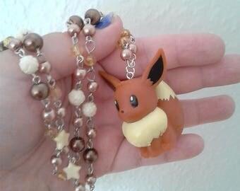 Pokémon Necklace - EEVEE - Toy Necklace - Gamer Gear - Pokemon GO