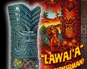"BigToe Tiki Farm  ""Lawai'a"" Hand-signed Tiki Mug PICK UP ONLY"