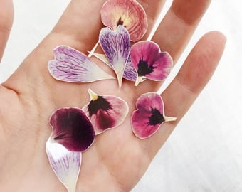 Flower Petal Temporary Tattoo Pack