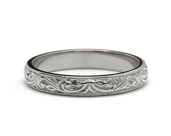 Platinum Wedding Band- Platinum Wedding Band Women-Platinum Ring-Platinum Band-Platinum Ring-Platinum Wedding Ring-Wedding Band Platinum