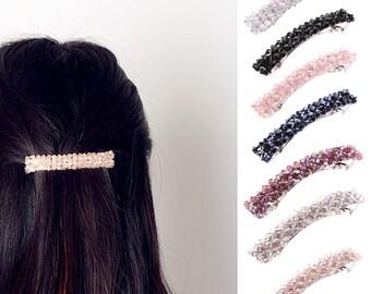 Crystal Rhinestone Hair Clip Barrette Hairpin Hair Accessories