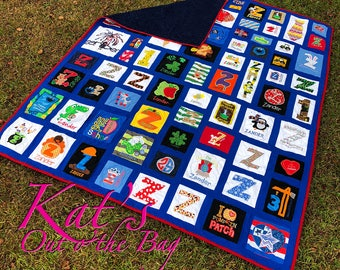 MEMORY QUILT   Baby Clothes Quilt   First Year Clothes Quilt   Keepsake Quilt   Custom Made-to-Order
