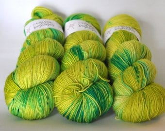 Sock Yarn - Poolside Appletini