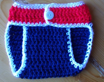 Baby diaper cover for Newborns in team colors