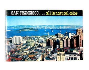 SAN FRANCISCO / Post Cards / California / Ephemera / Souvenirs / Golden Gate Bridge / China Town / Bay Area / Fishermans Wharf / Cable Cars
