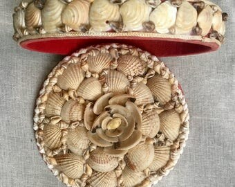 Reproduction Sailors Valentine Box