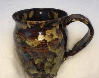 Mugs space galaxy glazed