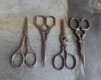 Beautifull french scissors ornated  Sewing Embroidery