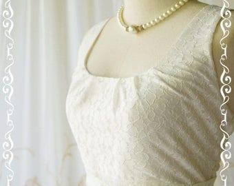 Flash SALE White dress White lace dress white party dress white prom dress white vintage dress style white bridesmaid dresses lace bridesmai