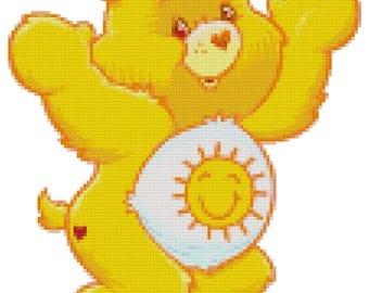 Funshine Bear Cross Stitch Pattern (PDF)