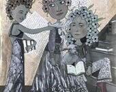 "Art Print ""Book Club"""