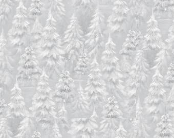 Woodland Wonder, Winter, Tree Blender, Lt Gray Tone on Tone