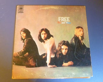 FREE Fire and Water Vinyl Record LP SP 4268 A&M Records 1970