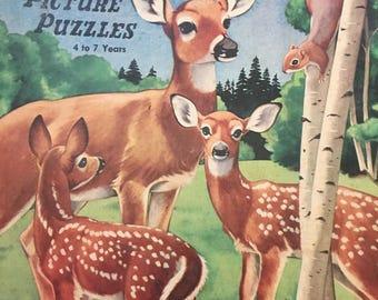 Antique Nature Picture Puzzles Box Set