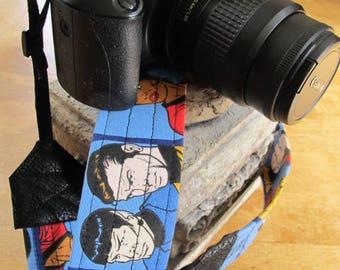 Star Trek Camera Strap Kirk Spock Bones Checkov Sulu Uhura