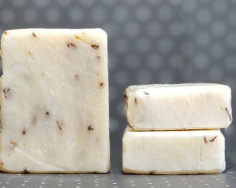 "Goat Milk Lavender Soap ""Darling, the Goats Ate the Lavender Again"" -- Natural Soap, Handmade Soap, Goat Milk Soap, Vegetarian Soap, Gift"