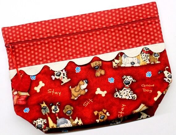 Lil' Big Bottom Good Dog #1 Cross Stitch Embroidery Bag