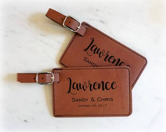 Personalized Mr. and Mrs.Luggage Tags, Engraved Luggage Tag, Luggage Tags Personalized, Custom Luggage Tag, Travel Accessories, Luggage Tags
