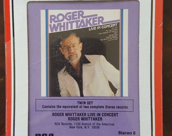 Roger Whittaker Live in Concert RCA S 250068 New Sealed Vintage 8-Track Tape