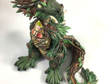 Forest King Dragon Sculpture