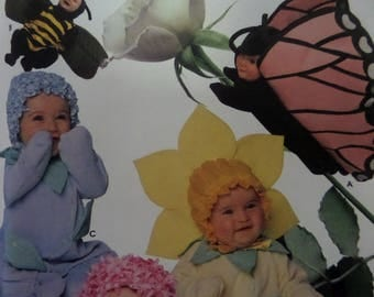 BUTTERFLY & BEE COSTUME Pattern • Simplicity 7868 • Toddler Costume • Butterfly Costume • Flower Costume • Costume Pattern • WhiletheCatNaps