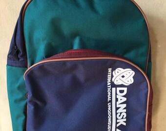 Vintage Dansk AFS backpack