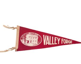 Washington Headquarters Valley Forge Felt Flag