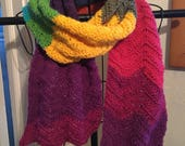 Ripple Scarf in Wizard