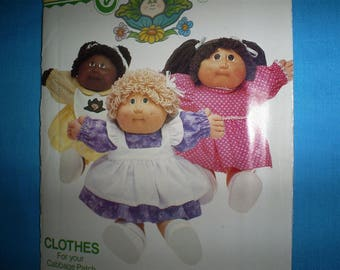 Butterick 6509  Cabbage Patch Kids Clothes..