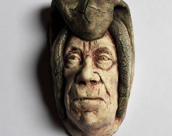 Porcelain Head Sculpture