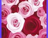 Wild ROSE Pink Red Poly MAILER Bags Self Adhesive 10x13 Inch Designer Envelope