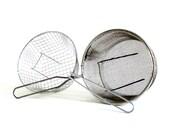 Wire Deep Fryer Basket Deep Frying Strainer Colander