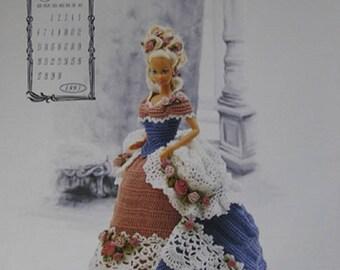 Annie's Attic Calendar Victorian Lady Centennial Miss June 1993 Fashion Bed Doll Crochet Pattern original no copy