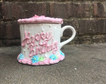 Happy Birthday - Teleflora Coffee Cup