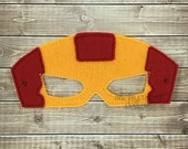 Iron Man Mask - Iron Man Costume - Iron Man Masks - Iron Man Birthday Party Favors - Superhero Mask