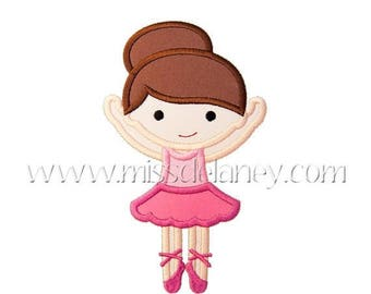 ON SALE Ballerina2 Applique Design