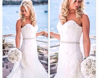 All around wedding belt,Wedding sash belt,Crystal rhinestone belt