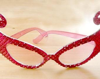 Rose Colored Sunglasses Fun Funky Eyewear