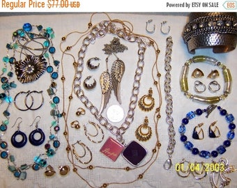 TWICE A YEAR, 25% Off Vintage Jewelry (Lot 100). Med. and Small.