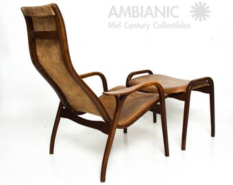 Lamino Chair by Swedese by Yngve Ekstrom Mid Century Danish Modern